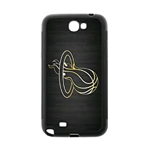 Cellphone accessories Samsung Galaxy Note 2 TPU Phone Case Miami Heat Background Design-by Allthingsbasketball