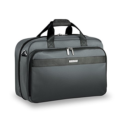 Briggs & Riley Transcend Clamshell Cabin Bag, Slate by Briggs & Riley