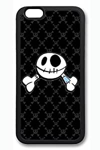 Cool Skull 1 Slim Soft Cover Case For HTC One M8 Cover PC Black Cases