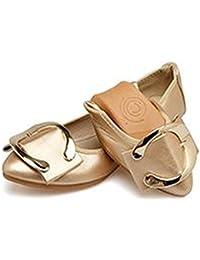 Women Ballet Flats Flower Casual Slip-on Comfort Walking Dance Shoes