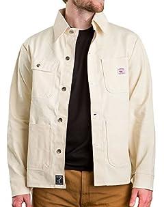 Chore Coat: White Drill