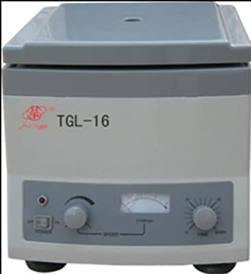 New TGL-16 Microcomputer Electric Lab Centrifuge Equipment 1.5ml x 12 16000rpm