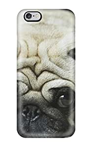 Iphone 6 Plus Case Slim [ultra Fit] Cute Pug Protective Case Cover