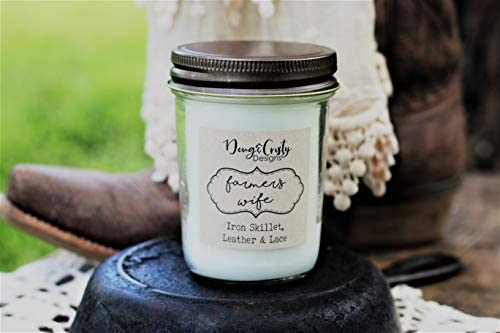 Doug And Cristy Designs Farmers Wife Candle Home Kitchen