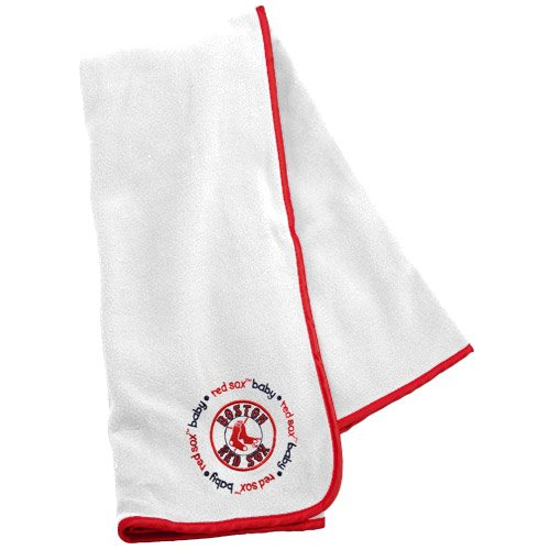 Baby Fanatic Boston Red Sox Receiving Blanket, 24 x 36-Inch