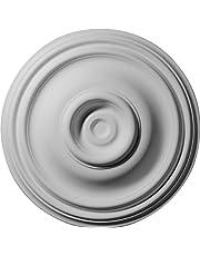 Ekena Millwork 14 3/4-Inch OD x 4-Inch ID x 1 3/4-Inch Traditional Ceiling Medallion