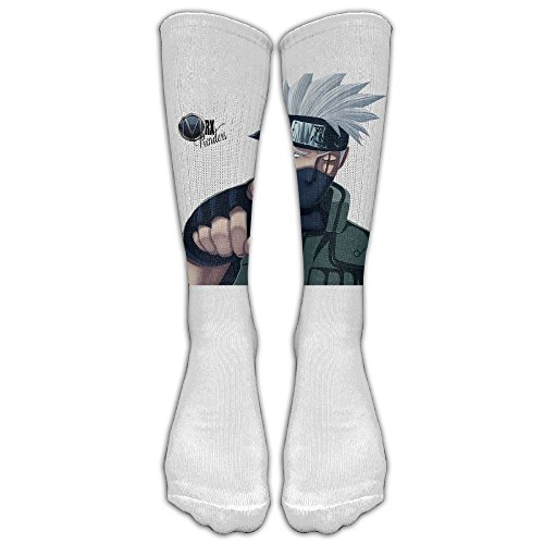 Kakashi Unisex Tube Sock Crew Crew Fashion Novelty Knee High Socks