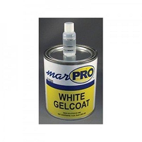 NEW MARPAC MARINE BOAT Gel Coat - No Wax White Quart 6-7625 ()