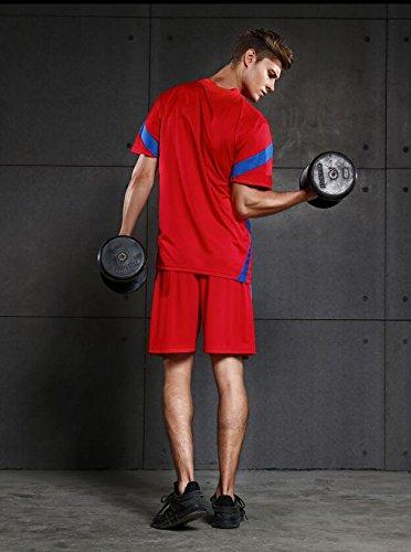 Amazon.com: Traje deportivo para hombre, de ocio, camiseta ...
