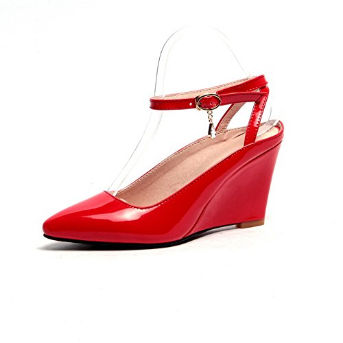 femme Sandales 1TO9 pour 1TO9 Sandales red pour XqRw1z