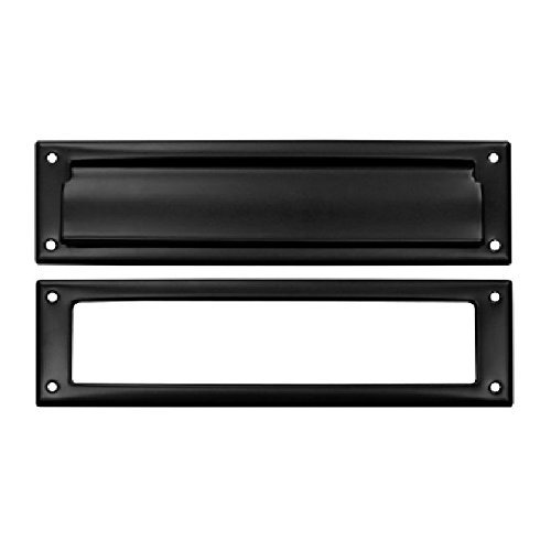 Deltana MS211U19 13 1/8-Inch Mail Slot with Solid Brass Interior Frame