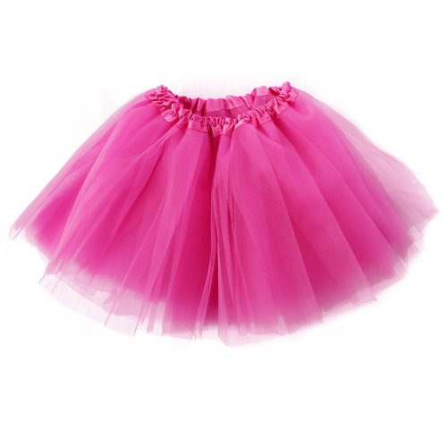 Women's Classic 3-layered Tulle Tutu Ballet Skirts Ruffle Pettiskirt for Customes Cosplay Dress up]()