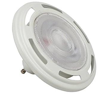 Bombilla 12W LED alternativa a Sylvania Hi-Spot ES111 75W GU10 38º reflector: Amazon.es: Iluminación