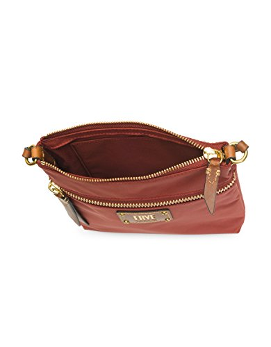 Crossbody Nylon Handbag Zip Ivy Clay Red FRYE ZqwEHtxt