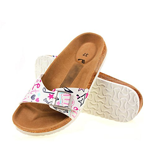 Slippers Daxianghua flip Shoes Women Woman Flops Sandal Beach White vovmi q18tvK