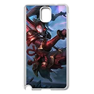 Samsung Galaxy Note 3 Cell Phone Case White League of Legends Blood Moon Kalista YD517951