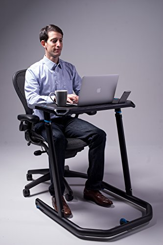 Wahoo KICKR Multi-Purpose Adjustable Height Desk for Indoor Cycling and