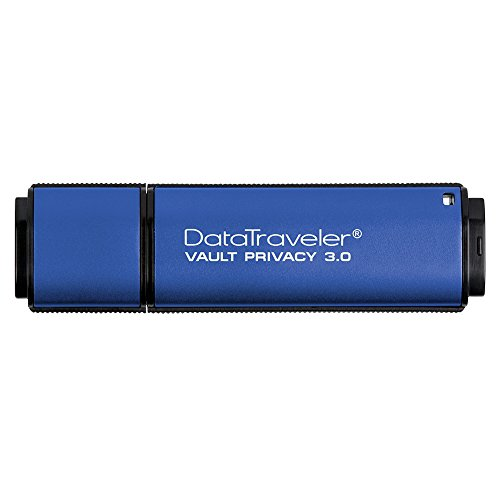Kingston Digital 32GB Data Traveler AES Encrypted Vault Privacy 256Bit 3.0 USB Flash Drive ()