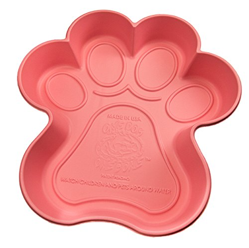 One Dog One Bone PPP04 Paw Shaped Dog Pool Made...