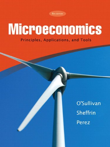 Microeconomics Principles, Applications & Tools & MyEconLab Student Access Code Card (6th Edition)