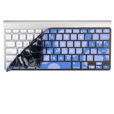 - iSkin Protouch Vibes Keyboard Skin with Microban for Wired / Wireless Apple Aluminum Keyboard - Star Gaze