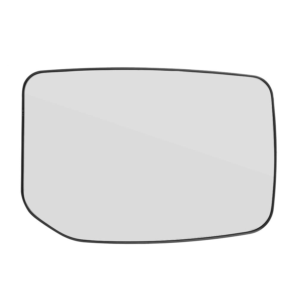 Cuque Mirror Glass 1pcs Left Passenger Side Clip on Replacement Mirror Glass Wing for Ford Transit 2000 2001 2002 2003 2004 2005 2006 2007 2008 2009 2010 2011 2012 2013