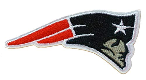 InspireMe Family Owned Patriots Football Embroidered Sew/Iron On Patch 3.5