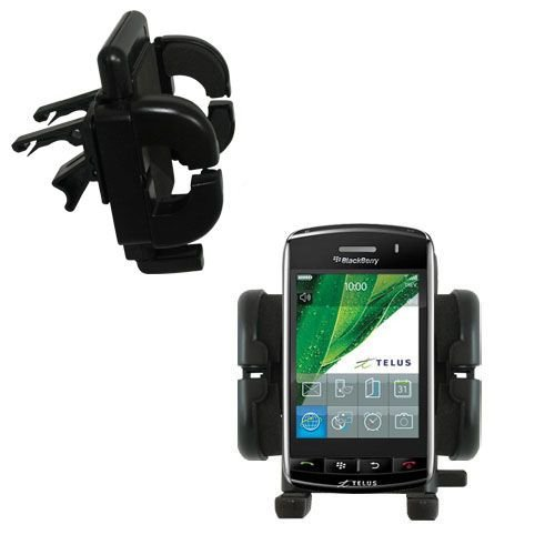 Innovative Vent Cradle Vehicle Mount designed for the Blackberry Storm - Adjustable Vent Clip Holder for Most Car / Auto Vent ()