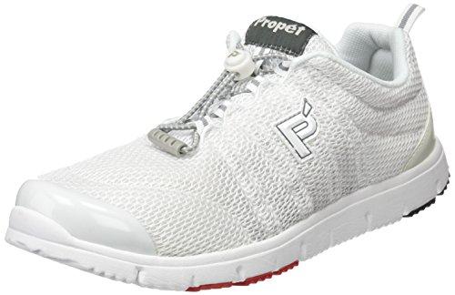 Propet W3239_m(b), Zapatillas para Mujer Blanco (White)
