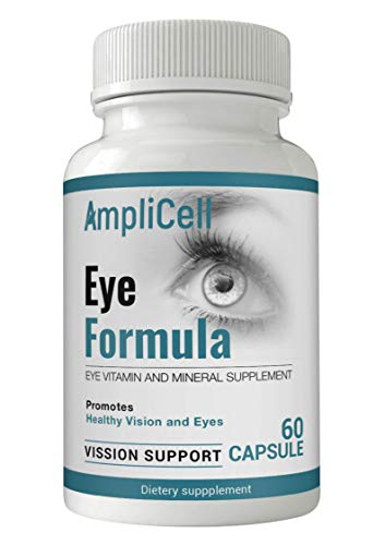 AREDS 2 Eye Vitamins with Lutein and Zeaxanthin Supplements - FDA Certified - Potent Pure AMD Eye Health Supplements Support Comfort, Clarity, Color Perception, Night Vision, and Depth Perception
