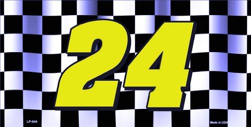 JEFF GORDON NASCAR #24 LICENSE PLATE plates tag tags auto vehicle car front