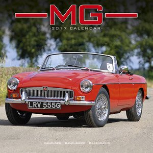 Calendario 2017 MG - Coche Collection - Coche de deportes ...