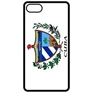 Cuba Coat Of Arms Flag Emblem Black Apple Iphone 6 (4.7 Inch) Cell Phone Case - Cover