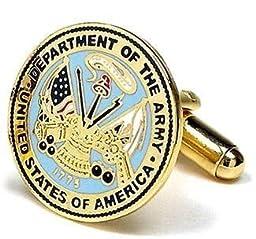 US Army Cufflinks - Armed Forces Formal Wear - Cufflinks