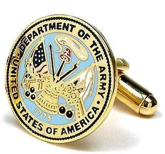 US Army Cufflinks - Armed Forces Formal Wear - Cufflinks