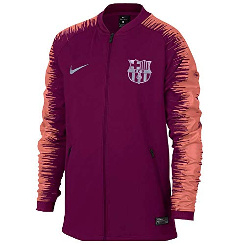 NIKE 2018-2019 Barcelona Anthem Jacket (Deep Maroon) - Kids
