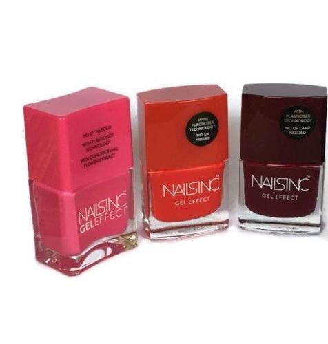 Gel Nail Polish Qatar: Nails Inc Gel Effect Nail Polish Gift Set Hamper Presents