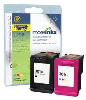 2 Cartuchos de tinta compatibles para impresora HP Deskjet ...