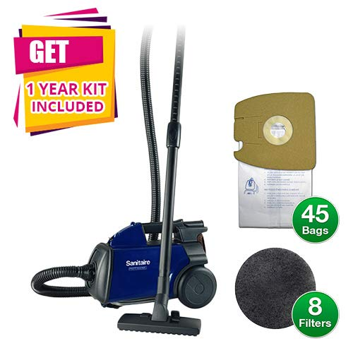 Sanitaire S3681D Sanitaire Mighty Mite Canister Vacuum Bundles (Canister Vacuum w/KIT)