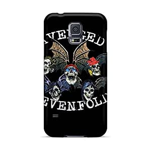 Samsung Galaxy S5 DXD1668FPDV Provide Private Custom Nice Avenged Sevenfold Band A7X Series Protector Cell-phone Hard Cover -casesbest88