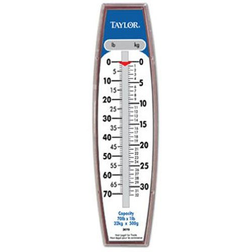 Taylor Precision Products Hanging Scale (70-Pound/32-Kilogram)