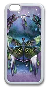 iphone 6 plus Case,Dragonfly Dreamcatcher TPU Custom iphone 6 plus Case Cover Whtie wangjiang maoyi by lolosakes