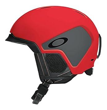 Oakley MOD3 Snowboard, Esquiar Gris, Rojo Casco de protección - Cascos de protección (