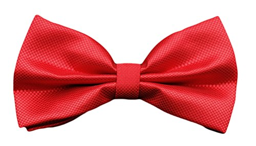 s Solid Dress MENDENG Tuxedo Color tied Plaid Formal Men Red Ties Bow Pre Check Tie CZxBq5Txw