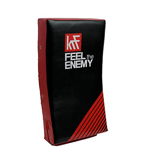 KRF Feel The Enemy Airtec Escudo de Alta Densidad, Unisex Adulto, Rojo/Negro, 75 x 35 x 15 cm 0016120