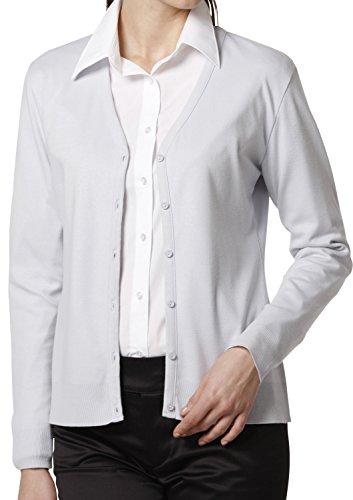 LEONIS SHIRTS & FAVORITES - Cárdigan - con botones - Clásico - para mujer Elfenbein - Lavender