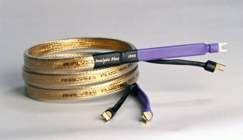 Analysis Plus Golden Oval Speaker Cables Banana Plug 8 Foot Pair