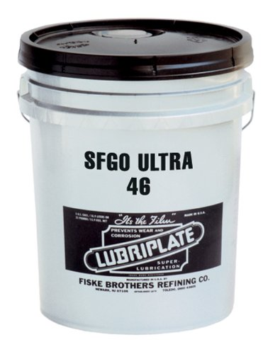 Lubriplate L0916-060 SFGO Ultra 46 Synthetic, PAO-based, High-Performance, Super Multi-Purpose, Fluid Lubricant, 5 Gallon Pail