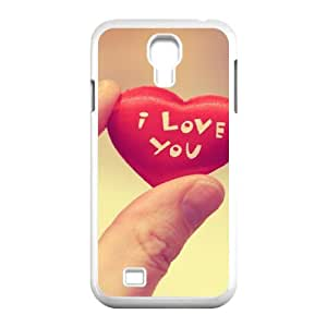 Heart in Hand Samsung Galaxy S4 Cases, Vety {White}