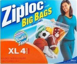 Ziploc Big Bags XL 10 gallon 24x20 in. 32 ct (  sc 1 st  Amazon.com & Amazon.com: Ziploc Big Bags XL 10 gallon 24x20 in. 32 ct (8/4s ...